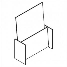 """Literature Holder, 9""""(W) X 3/32(T)"""