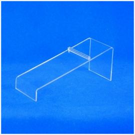 """Acrylic Shoe Display , 8""""(L) X 3""""(H) X 3/32""""(T), Pack of 24"""