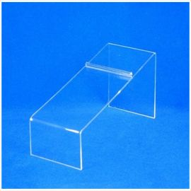 """Acrylic Shoe Display , 8-1/4""""(L) X 4""""(H) X 3/32""""(T), Pack of 24"""