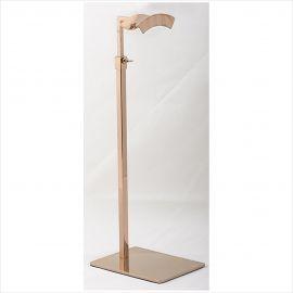 """Handbag Stand , Rose Gold Finish , Base: 8"""", Adjustable Upright: 14"""" - 26"""", Pack of 2"""
