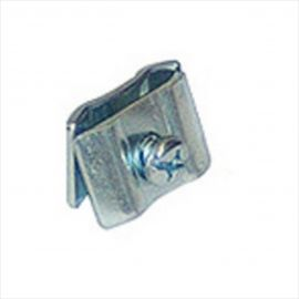 Joining Clip For Gridwall, Chrome, Pack of 1,000