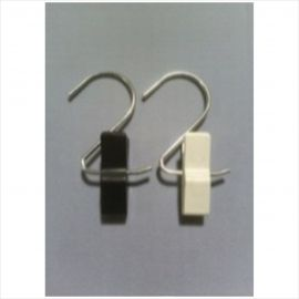 """3"""" S Hook With 2"""" Clamp , Pack of 50"""