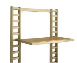 Hangrail With Metal Shelf, Pack of 4
