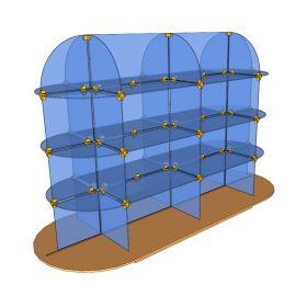 Custom Glass Cube Display Fixtures 16