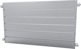 "Aluminum Slat Panel, 42""(W) X 24""(L) X 3/4""(T)"
