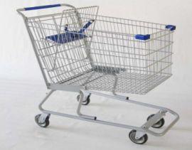 Shopping Cart, Powder Coat Cart with 11-inch Cart Nesting