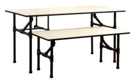 "Nesting Table, 47 5/8""(W) X 23 5/8""(D) X 24""(H)"