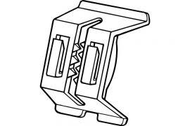 Shelf Channel Sign Holder