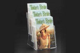 Triple-Tiered brochure Holder