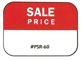 Promotional Label, Sale Price with Removable Adhesive, 1 Roll(500 pcs)