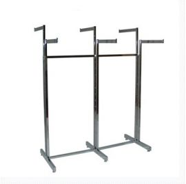 """6 Way With Adjustable Arms, 6- 16"""" Straight Arms, 5 /8"""" X 1 5/8"""" Rectangular Tube Frame, 6 Levelers"""