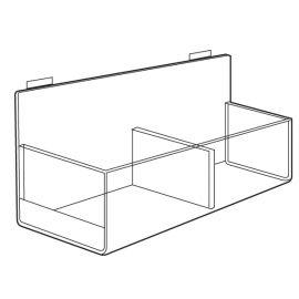 Acrylic Double Hosiery Bin