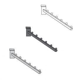 5 Hook Waterfall Square Tube For Slatwall