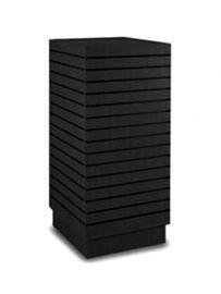 """Slatwall Cubic Tower, 24""""(L) X 24""""(W) X 54""""(H)"""