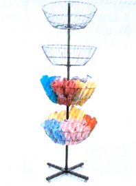 "Spinning Basket, 66""(L) X 22""(W), 4 Baskets"