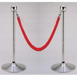 """Red velvet rope, 70""""L"""