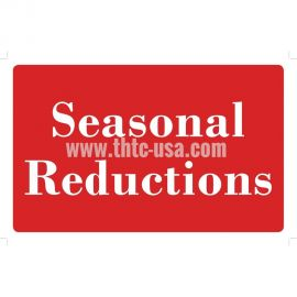 Plastic Message Sign / Seasonal Reductions Signs