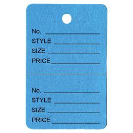 Price Tag, Light Blue, 1 Pack (1000Pcs)