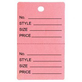 Price Tag / Pink / 1Pk(1,000 Pcs)