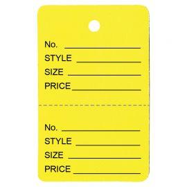 Price Tag / Yellow / 1Pk(1,000 Pcs)
