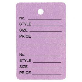 Price Tag / Lavender / 1Pk(1,000 Pcs)