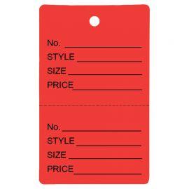 Price Tag / RED / 1PK(1,000 PCS)