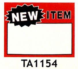 "Message Signs / New Item, 5 1/2"" X 7""(50 Pcs)"