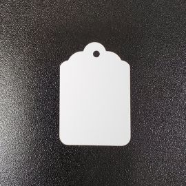 """Jewelry Tag / 1Pack(1,000 Pcs), 7/8"""" W x 1 1/4"""" L ~ 2"""" Wx 3 1/4"""" L without String"""