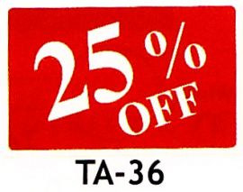 Plastic Message Sign / 25% Off