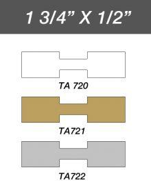 Adhesive Jewelry Tag  Rectangle - Gold / 1Pk(1,000 Pcs)
