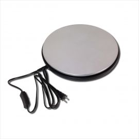 """Electronic Turntable, 13 1/2"""" Disc"""