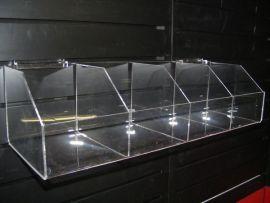 """4 Bin Shelf For Slatwall Displays 23""""(W)X7""""(D)X5.5""""(H)"""