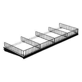 Gondola Wite Front Fence