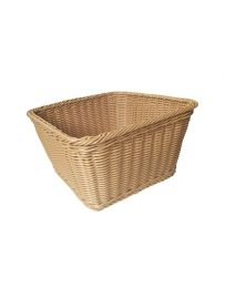 """Rectangular Washable Wicker Baskets, 12""""(L) X 12""""(W) X 8 1/2""""(H), Pack of 4"""
