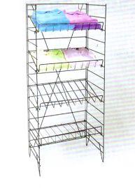 """Shelf Rack, 55""""(H) X 22 (W),4 Shelves - 22""""(W) X 13""""(D)"""
