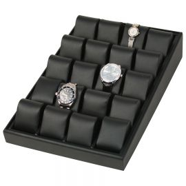 20 Deluxe Watch Tray-Black